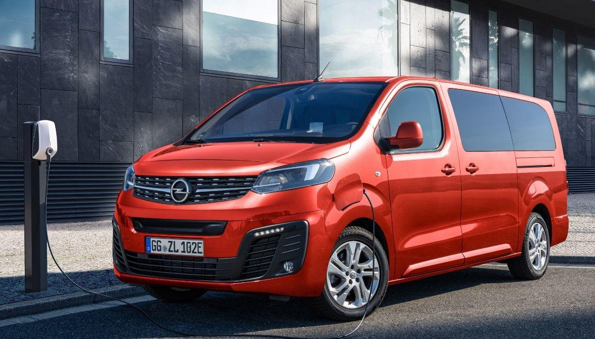 Opel-Zafira-e-life elettrica