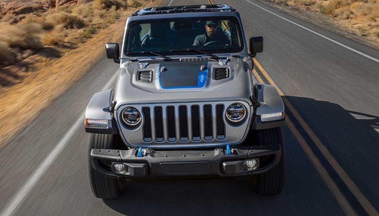 jeep wrangler ibrida