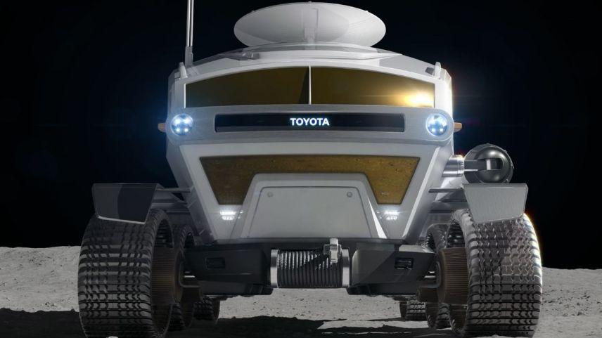 Il nuovo veicolo lunare progettato da Toyota
