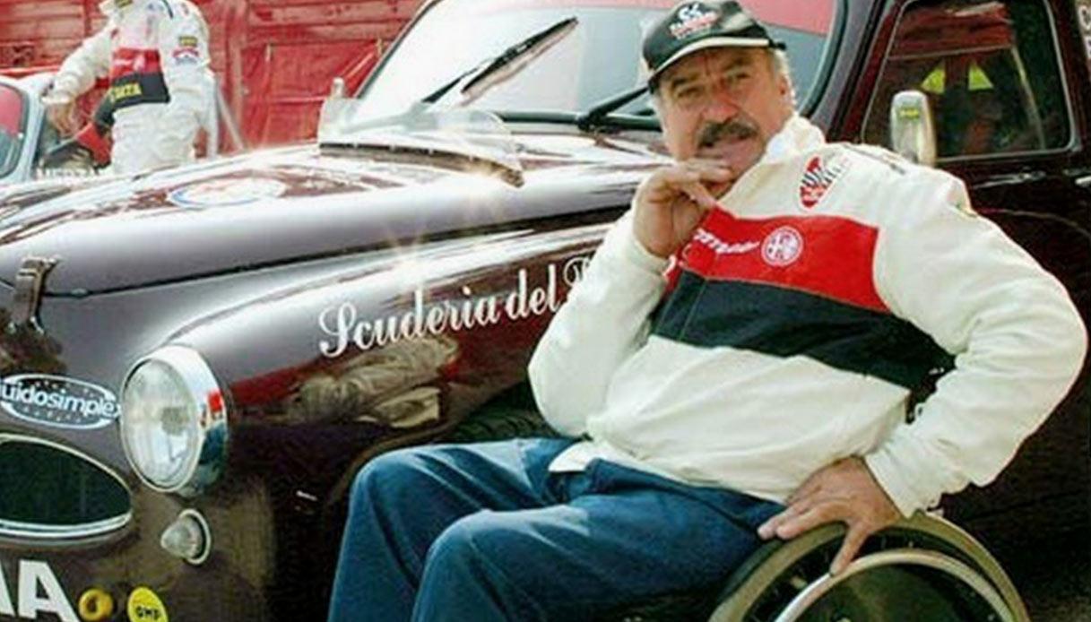 Clay Regazzoni e l'Alfa Romeo 1900 TI
