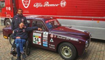 La seconda vita di Mattia Cattapan, pilota disabile della Mille Miglia