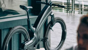 La e-bike del futuro è senza raggi e a prova di furto