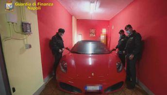 Ferrari, Porsche e moto d'epoca nel tesoro sequestrato ad un evasore