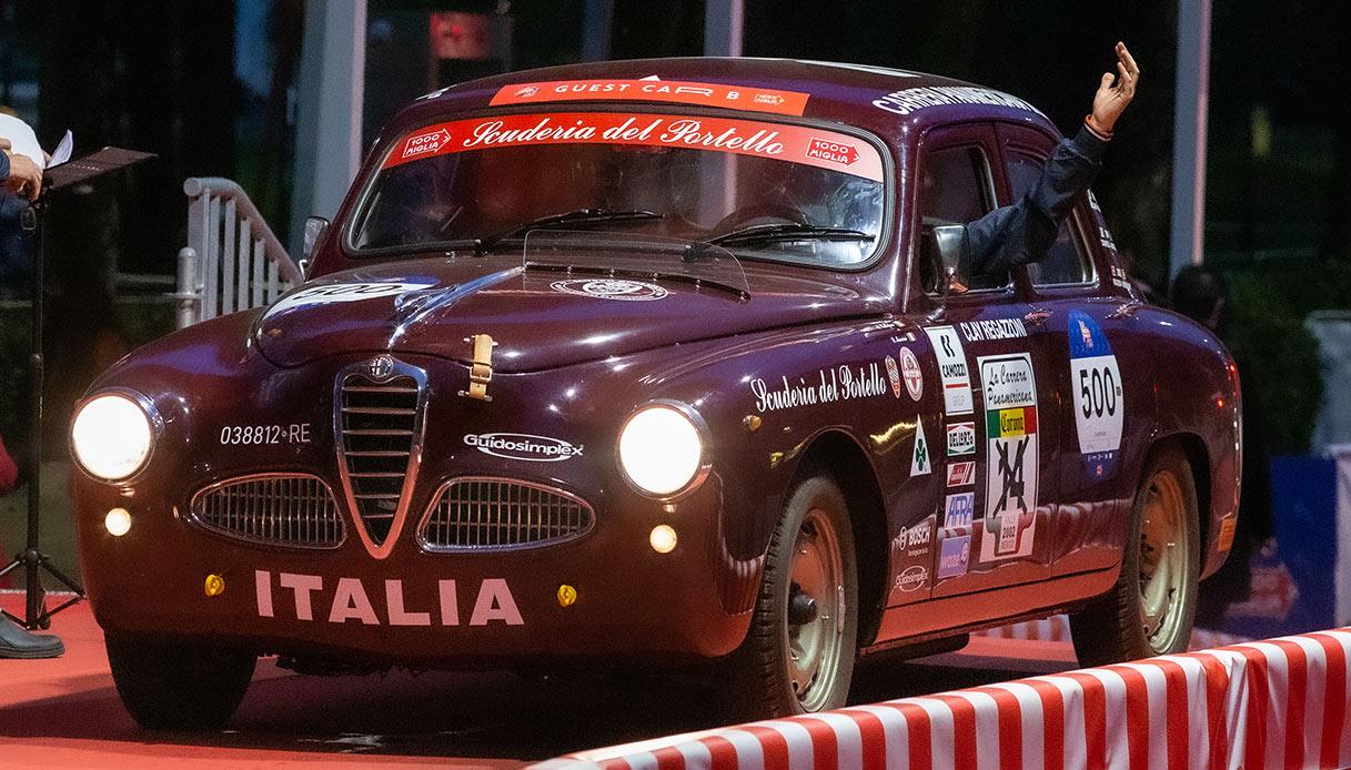 Alfa Romeo 1900 TI alla Mille Miglia 2020