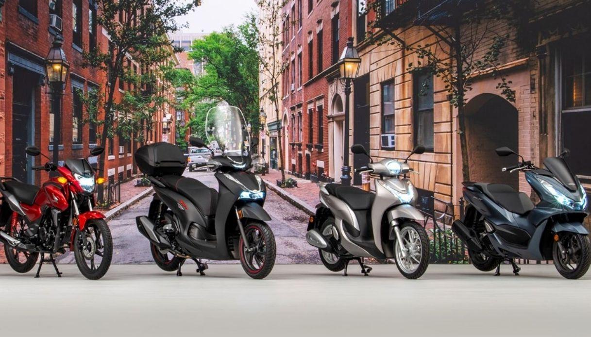 nuove honda moto