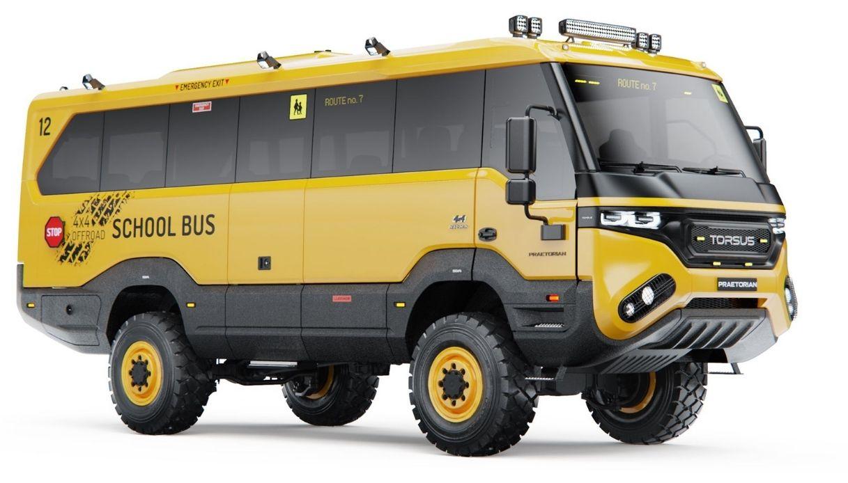 praetorian school bus