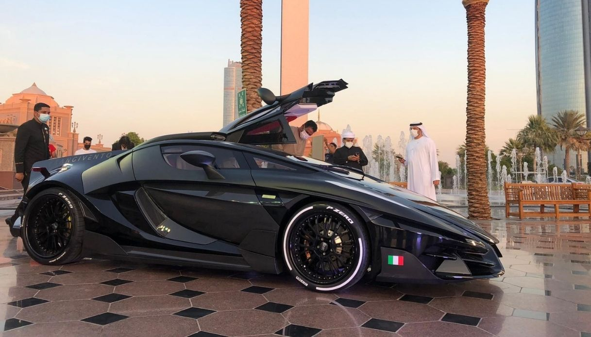 FV Frangivento Automobili, Asfanè negli Emirati Arabi