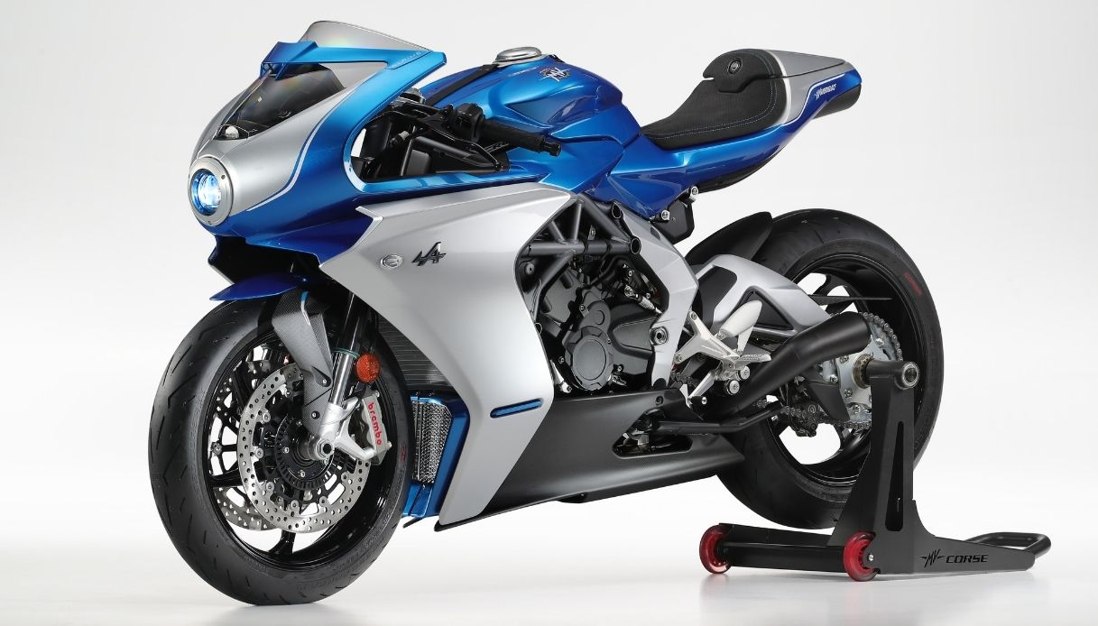 MV Agusta Superveloce Alpine Limited Edition