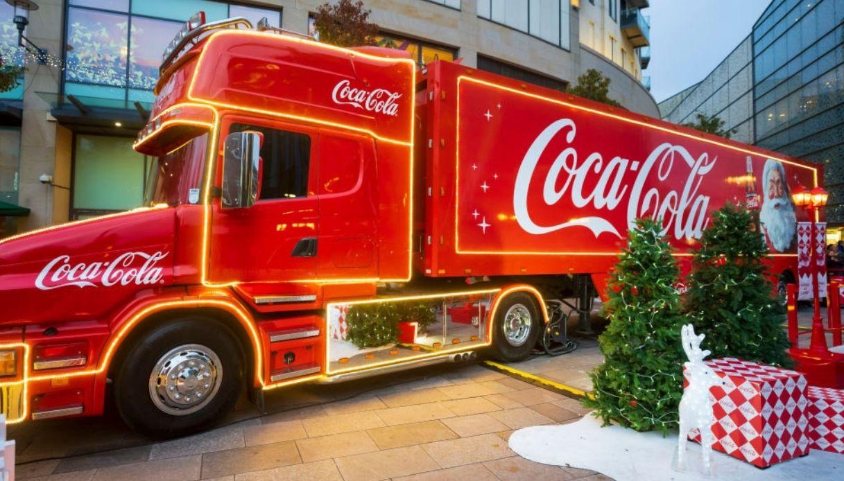 Il Camion di Coca Cola fa il tour d'Italia