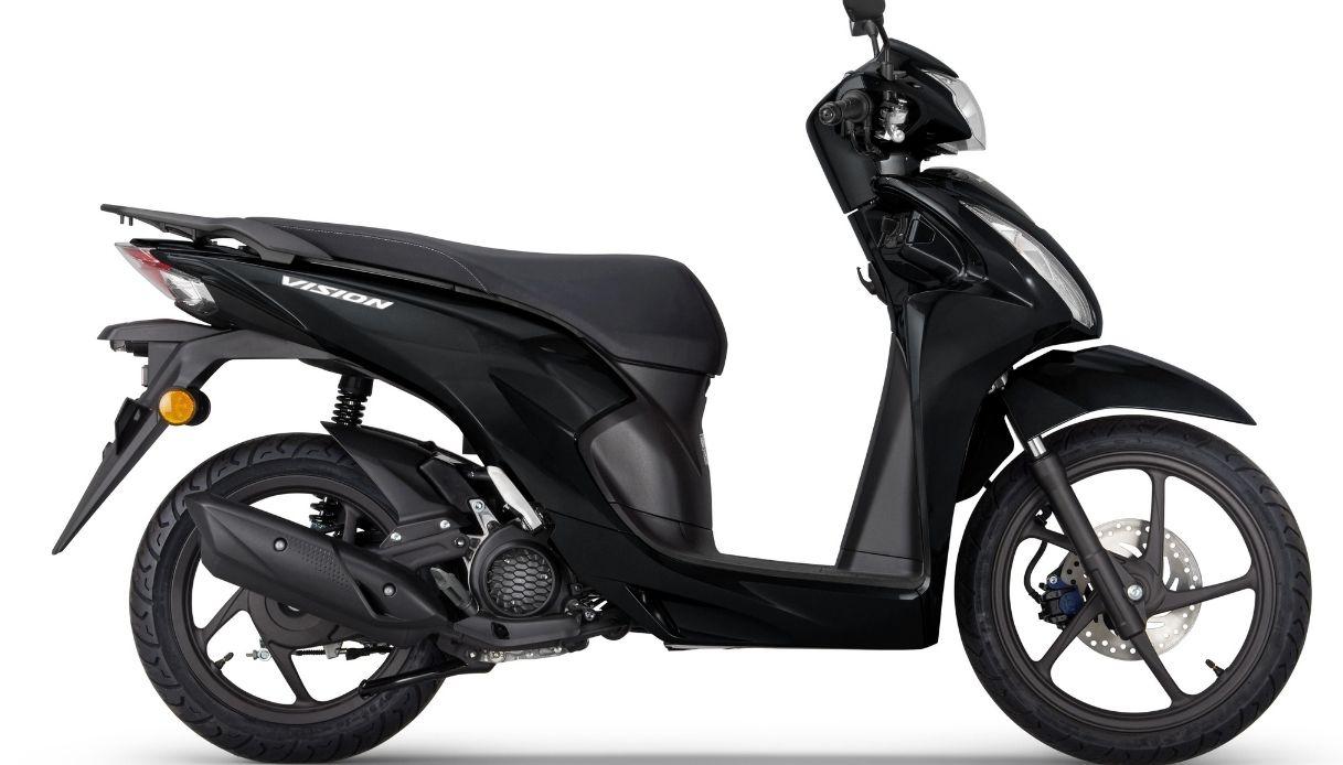 Honda presenta la nuova Honda Vision 110