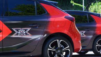 X Factor, le elettriche di Opel protagoniste della finale