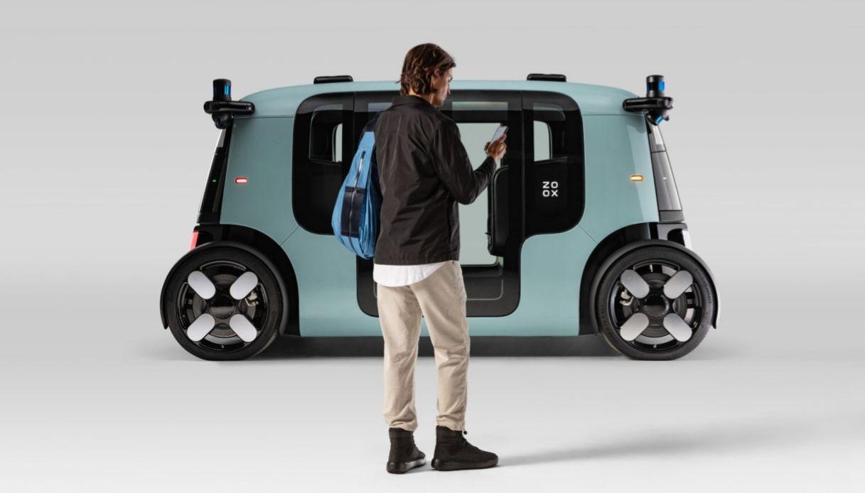 Amazon entra nel trasporto elettrico con Zoox