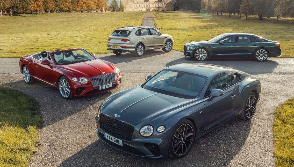 Record di vendite nel 2020 per Bentley