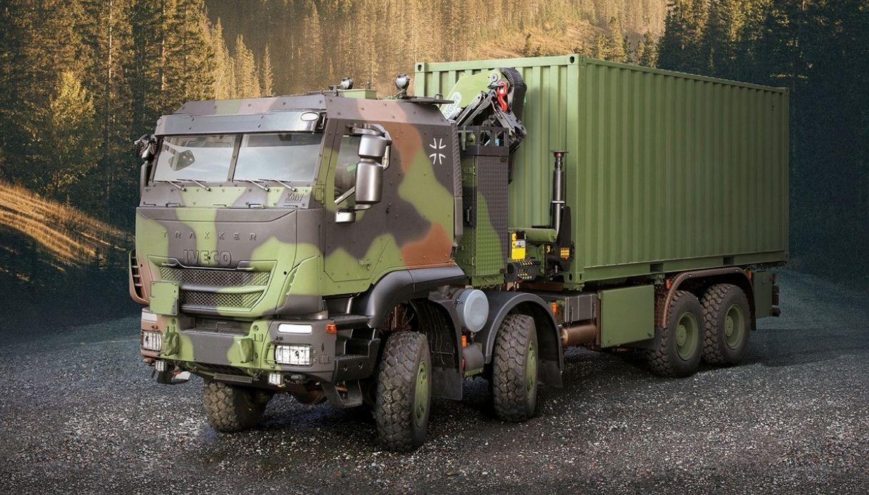 I nuovi autocarri per l'esercito tedesco prodotti da Iveco