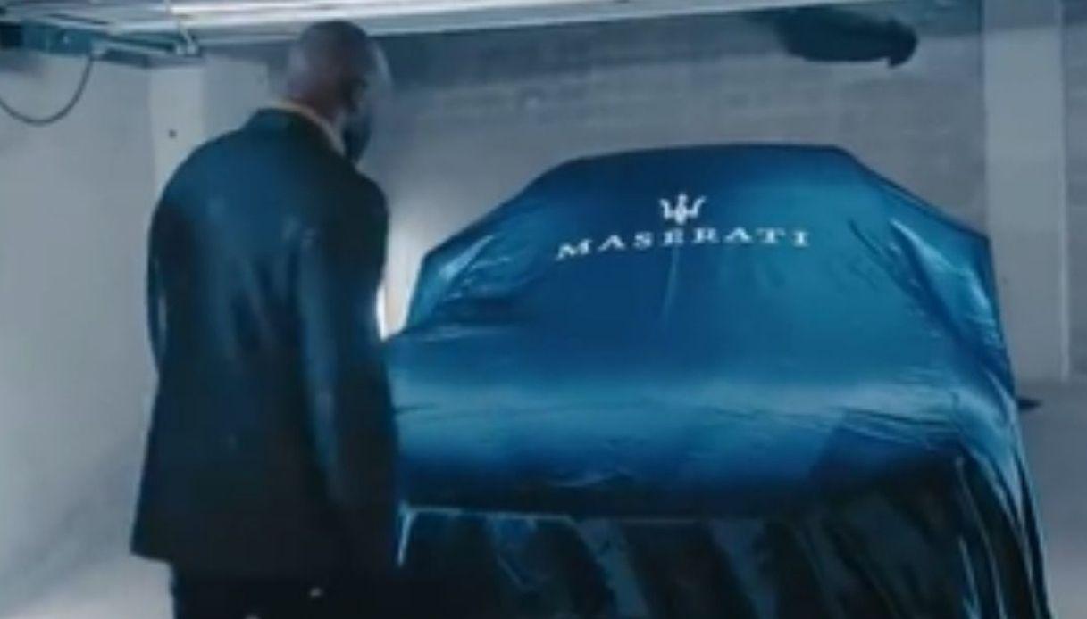 Una nuova Maserati Levante per Lukaku