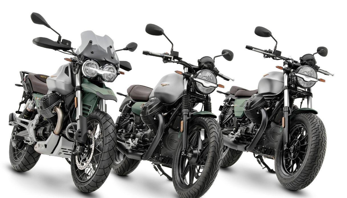 Moto Guzzi celebra il Centenario con una livrea speciale