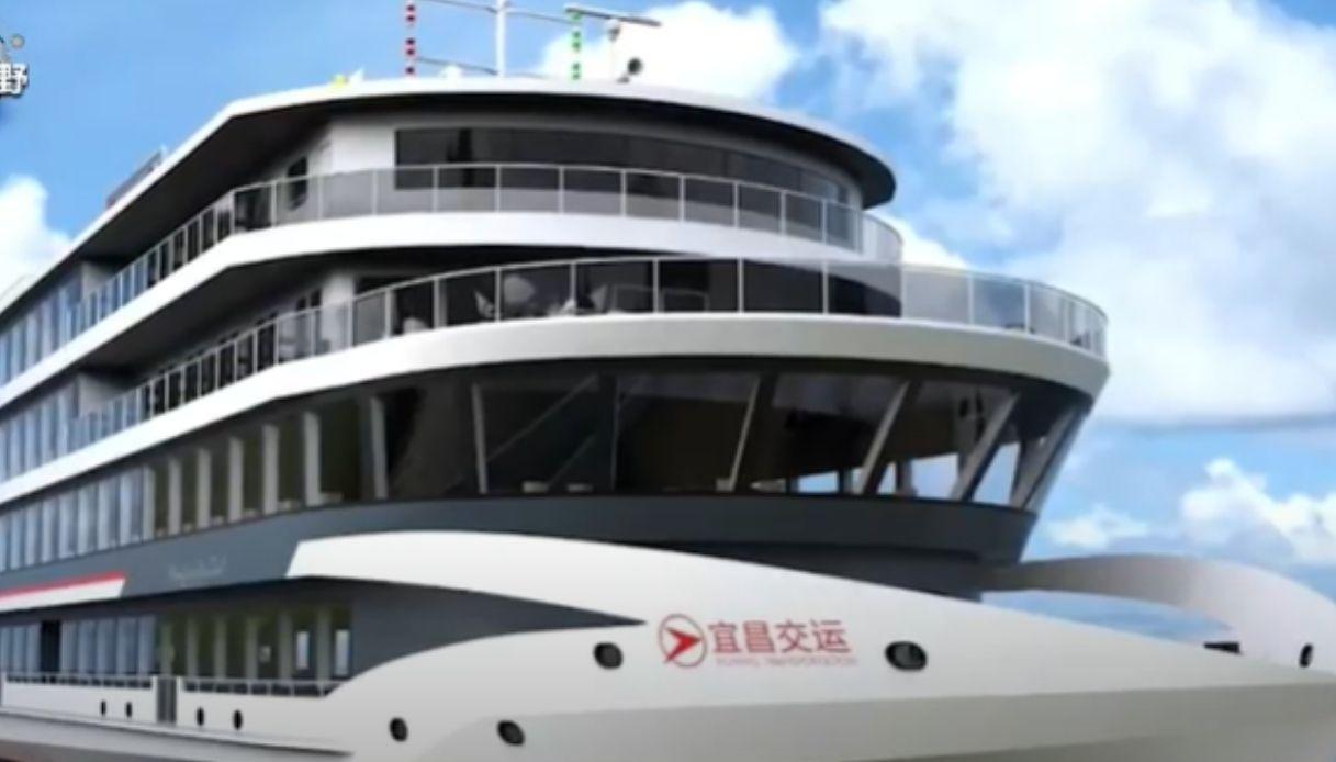 La nuova nave da crociera elettrica più grande al mondo