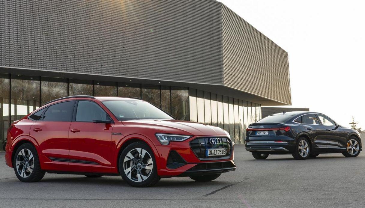 Audi e-tron, le novità e la ricarica veloce