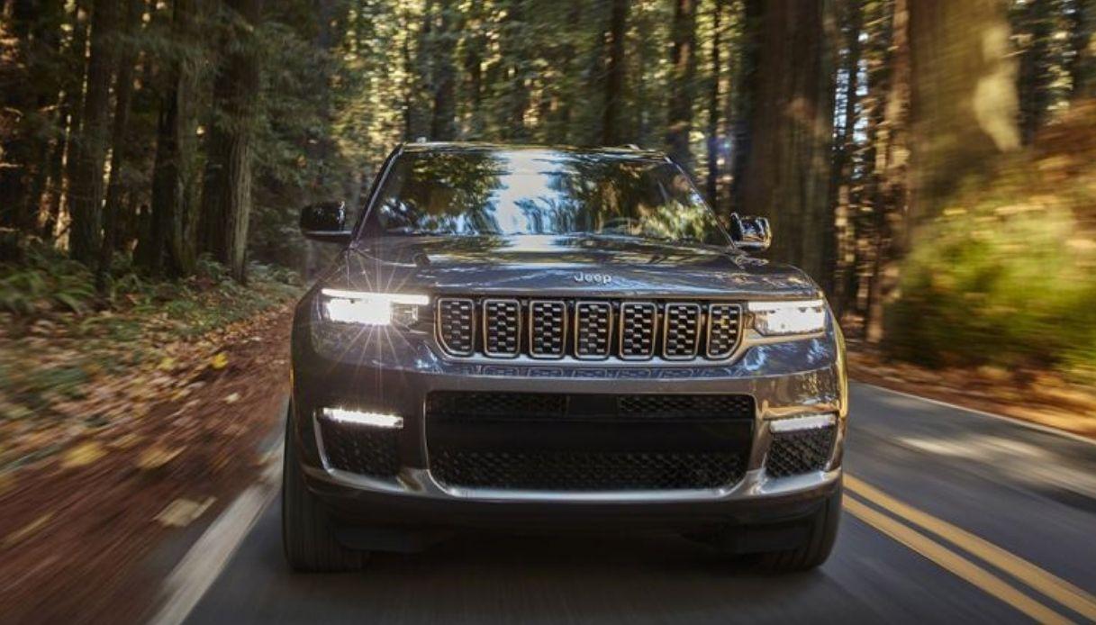 Nuova Jeep Grand Cherokee L per il 2021