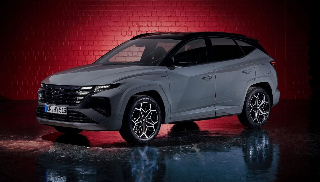 Nuova Hyundai Tucson N Line 2021