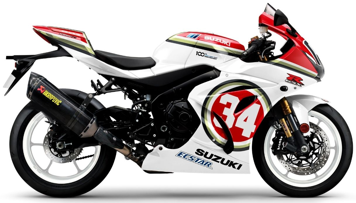 La Suzuki Legend Edition dedicata a Kevin Schwantz