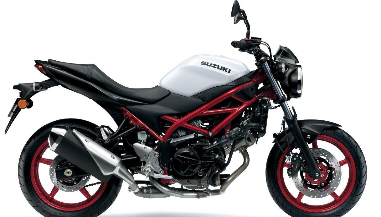 Svelata la nuova Suzuki SV650