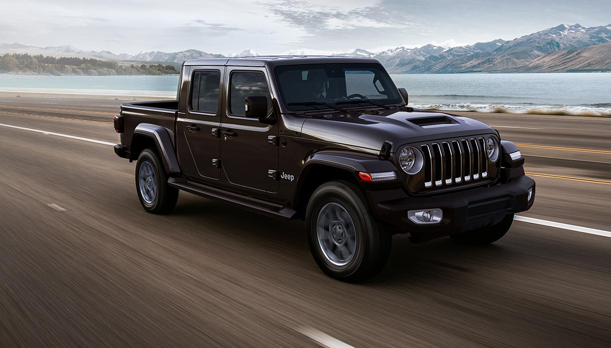 Jeep Gladiator con allestimento Overland