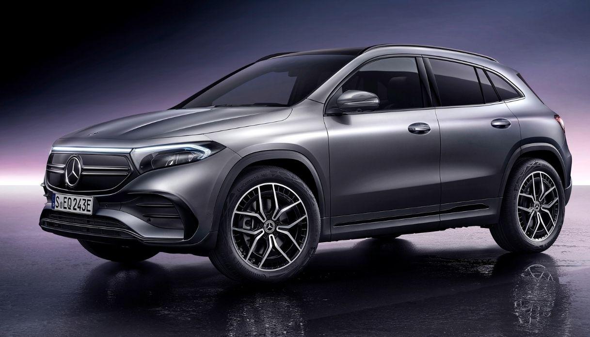 Arriva in Italia la nuova Mercedes EQA