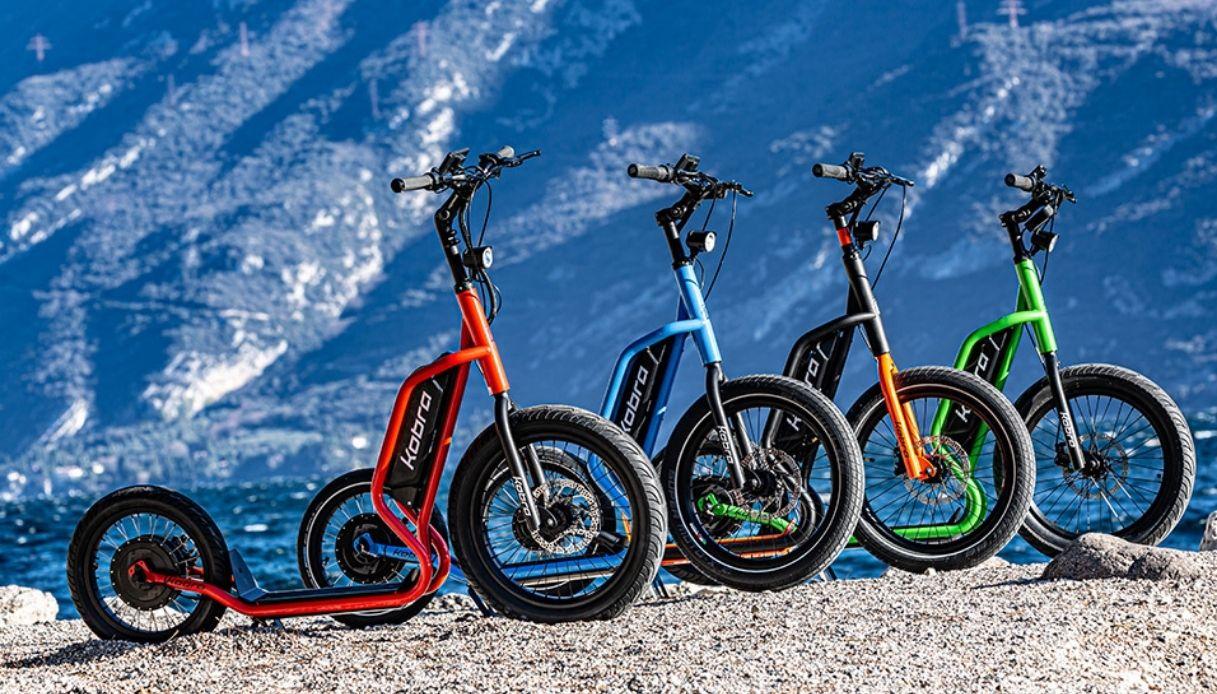 Il nuovo e-scooter Kobra