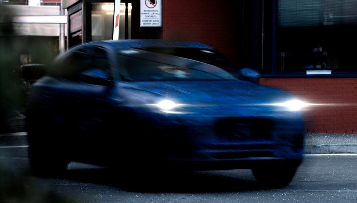 Maserati diffonde le prime immagini di Grecale