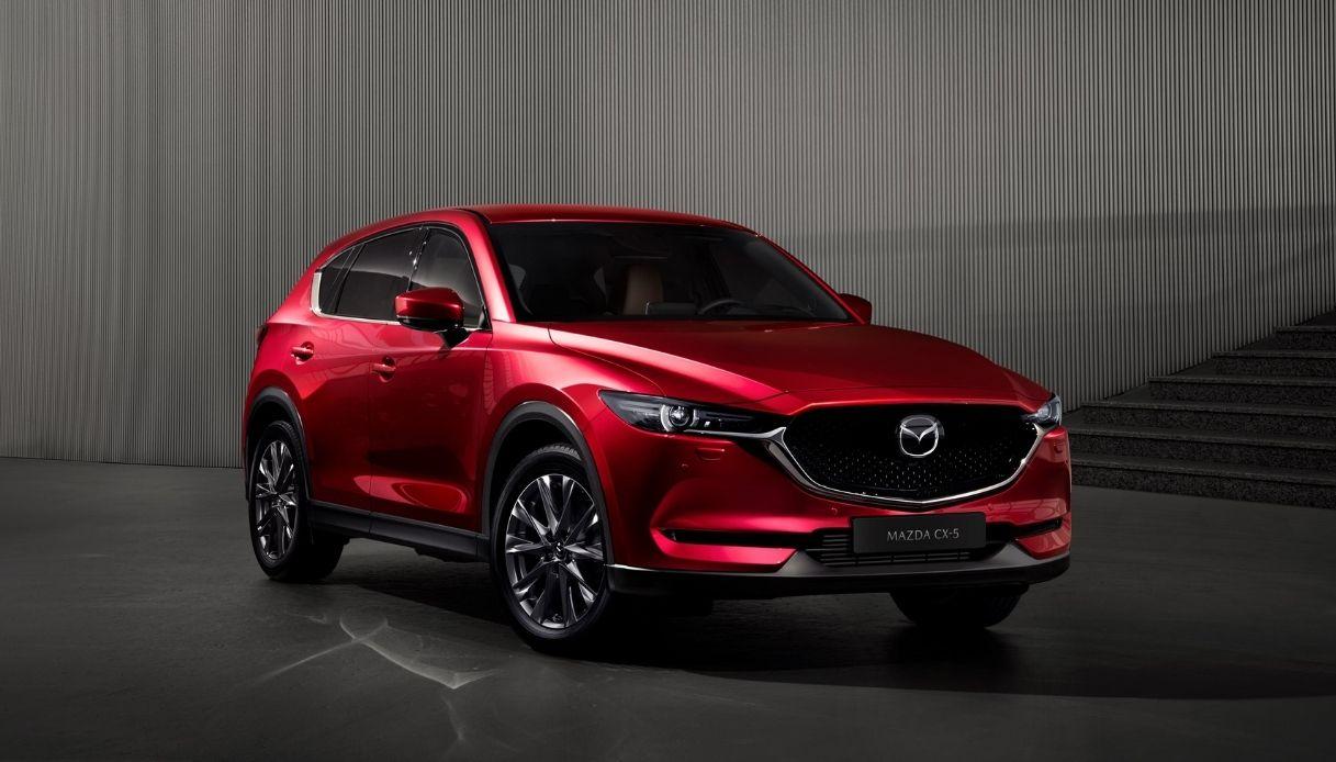 Mazda presenta la nuova CX-5