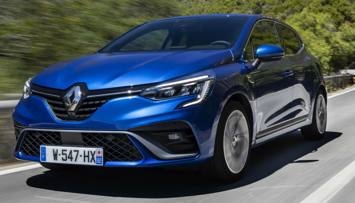 The fifth generation of Renault Clio