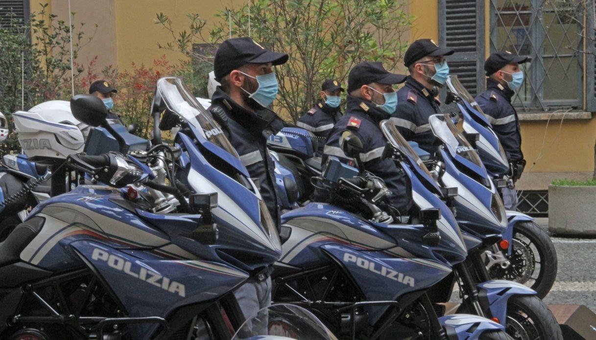MV Agusta, le moto della Polizia