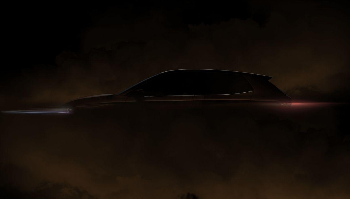 La prima immagine della nuova Skoda Fabia
