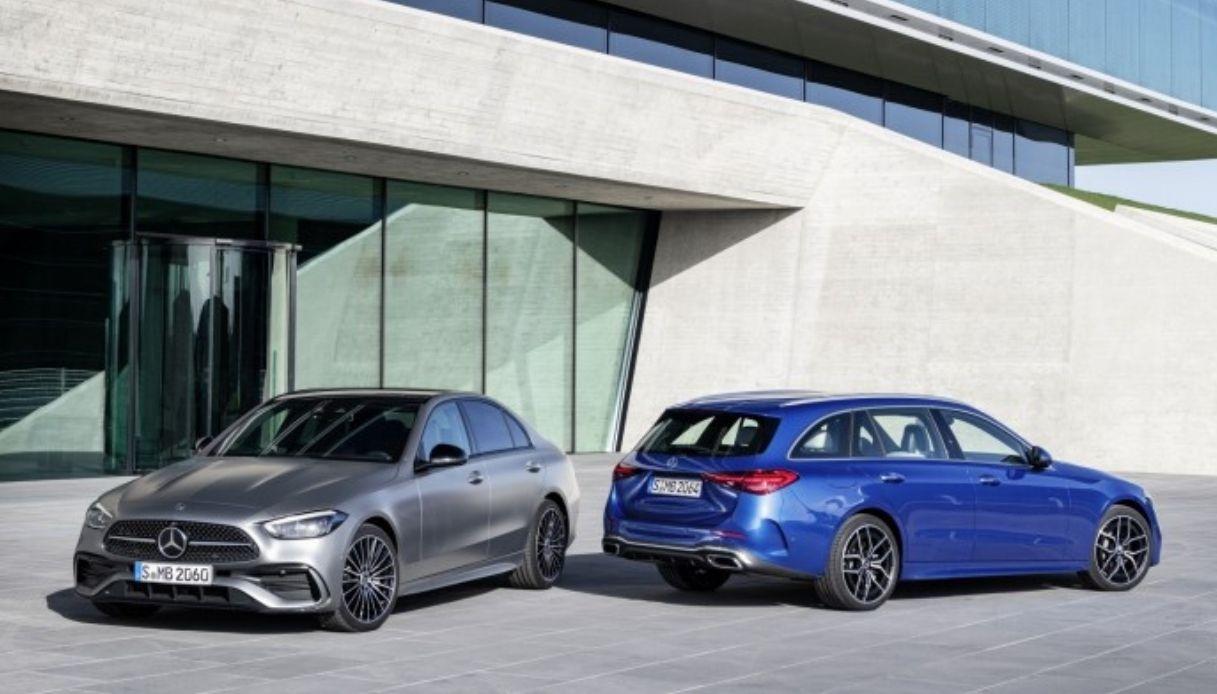 La nuova Mercedes Classe C mild hybrid