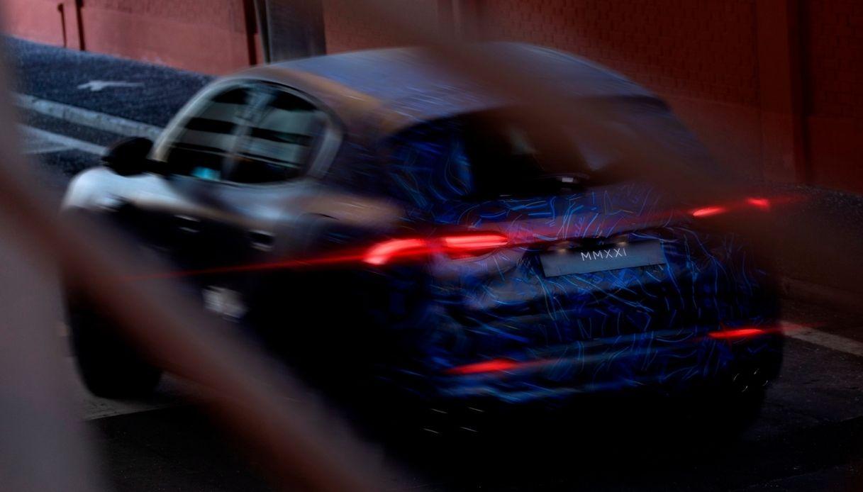 Le prime immagini di Maserati Grecale