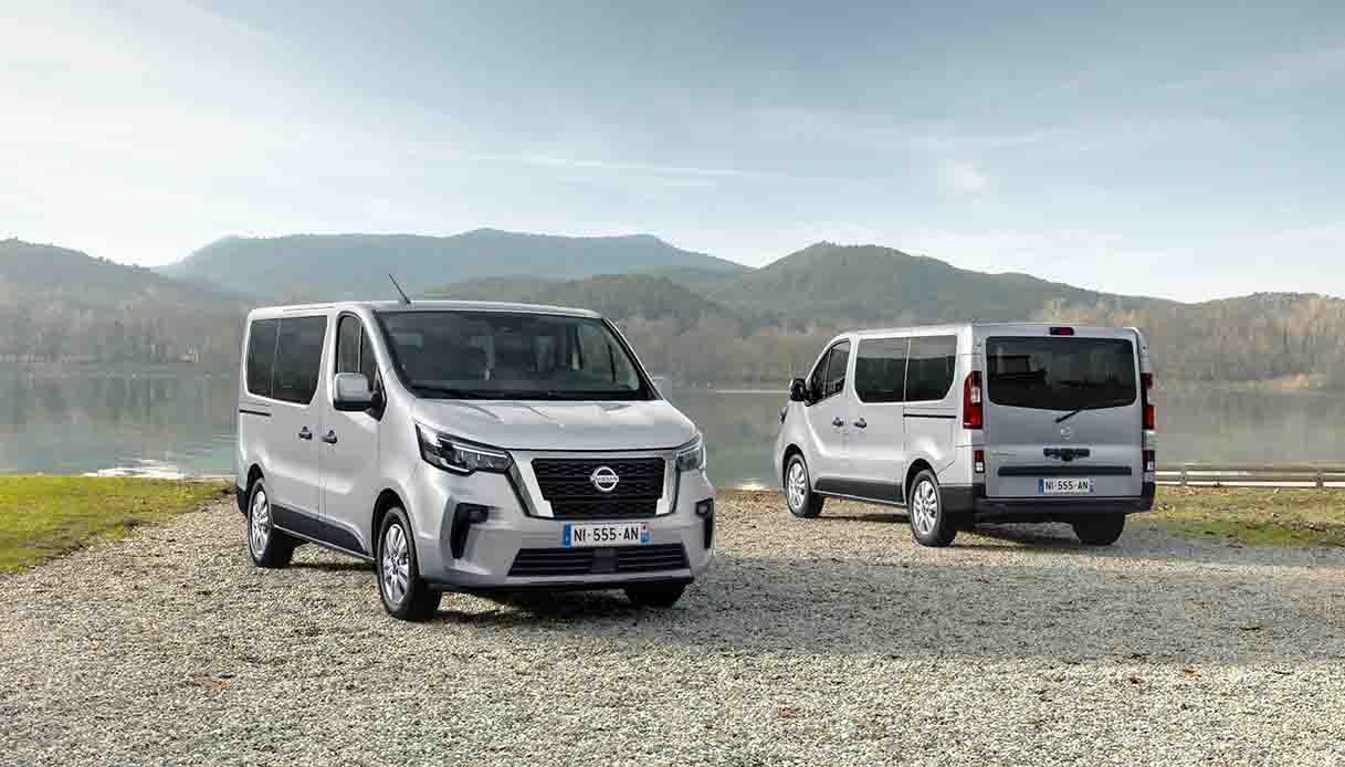 Nissan migliora il van NV300 BUS dall'estetica ai motori