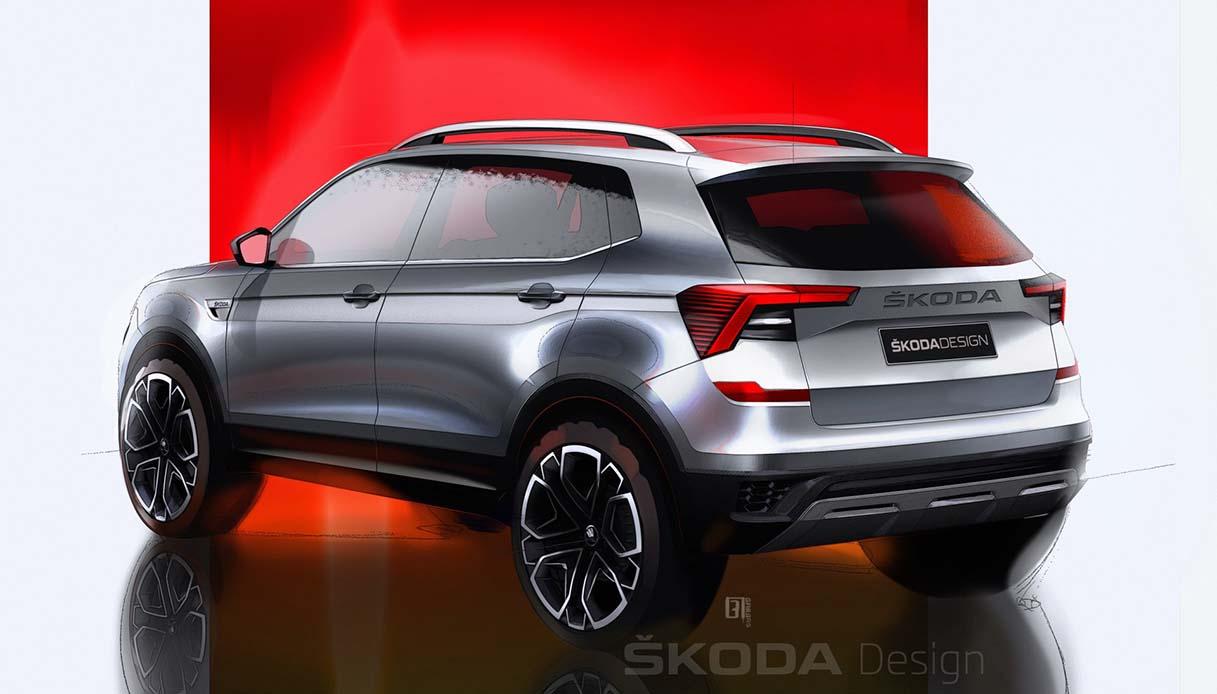 Il nuovo B-SUV per il mercato indiano 2021
