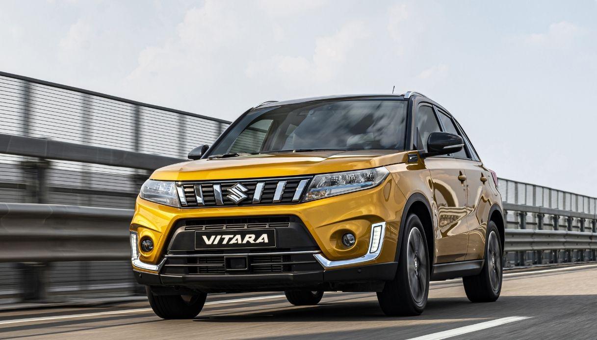 Suzuki Vitara, il SUV ibrido di successo