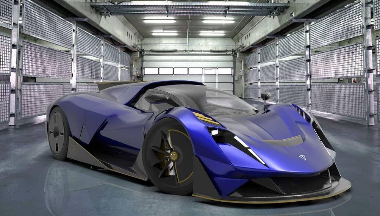 La nuova auto di Arrera Automobili è da record