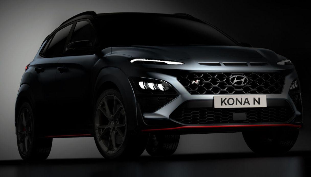 Hyundai svela la nuova Hyundai KONA N