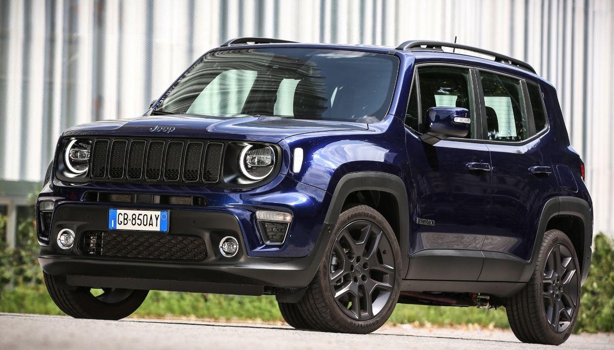 La versione ibrida plug-in di Jeep Renegade