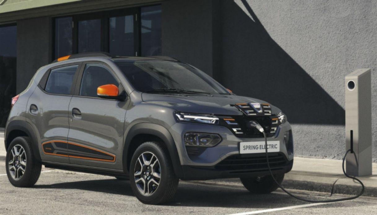 Dacia Spring, ecco l'elettrico low cost
