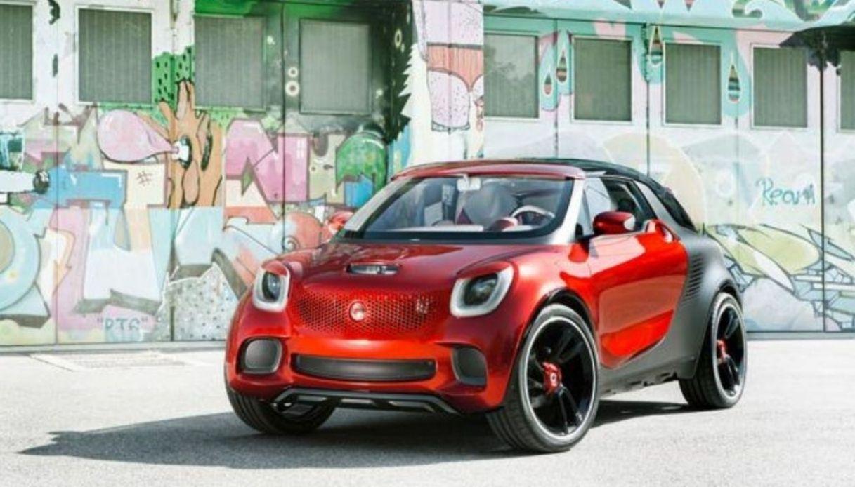 Il concept nel nuovo SUV Smart