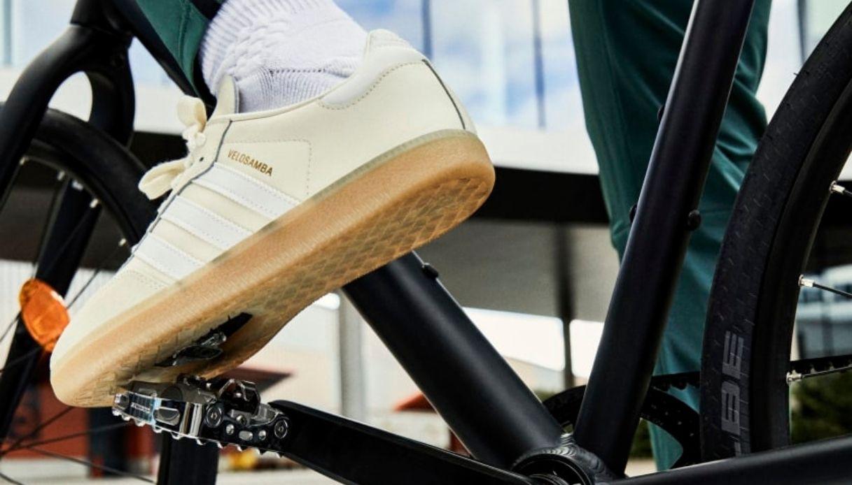 Nuove Adidas Velosamba per bicicletta