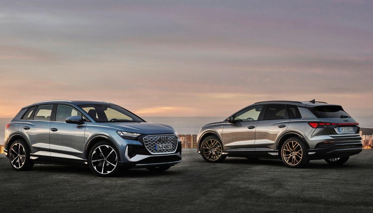 Audi presenta i nuovo SUV elettrici compatti premium