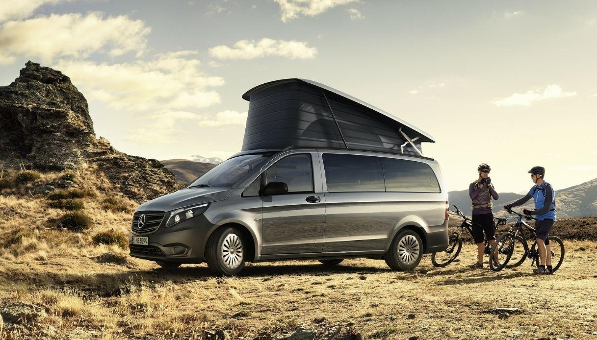 Marco Polo, il van di Mercedes per vacanze in libertà