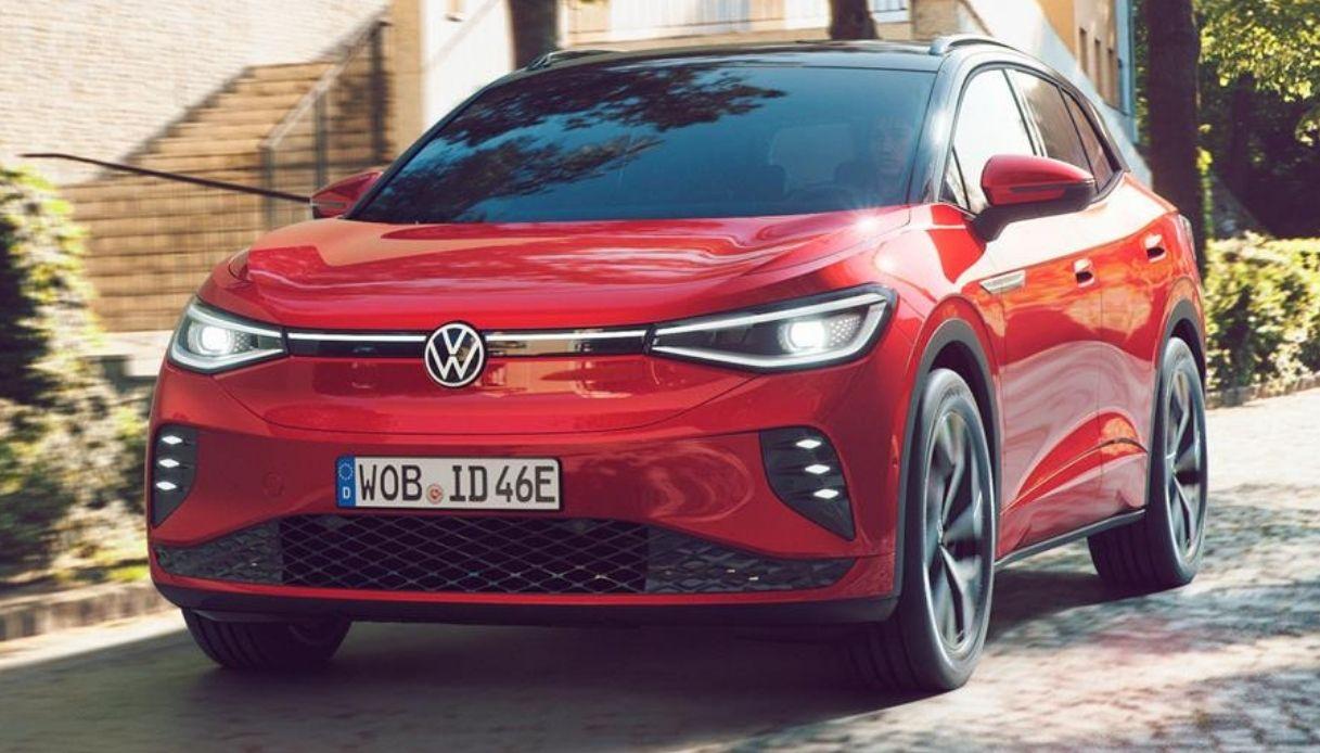 Il nuovo SUV elettrico Volkswagen ID.4 GTX