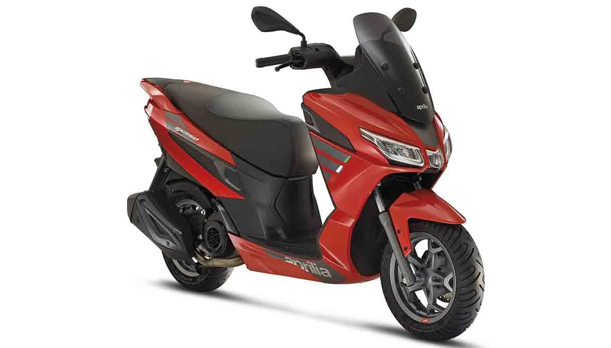 Il nuovo scooter 50 cc Aprilia SXR 50 2021