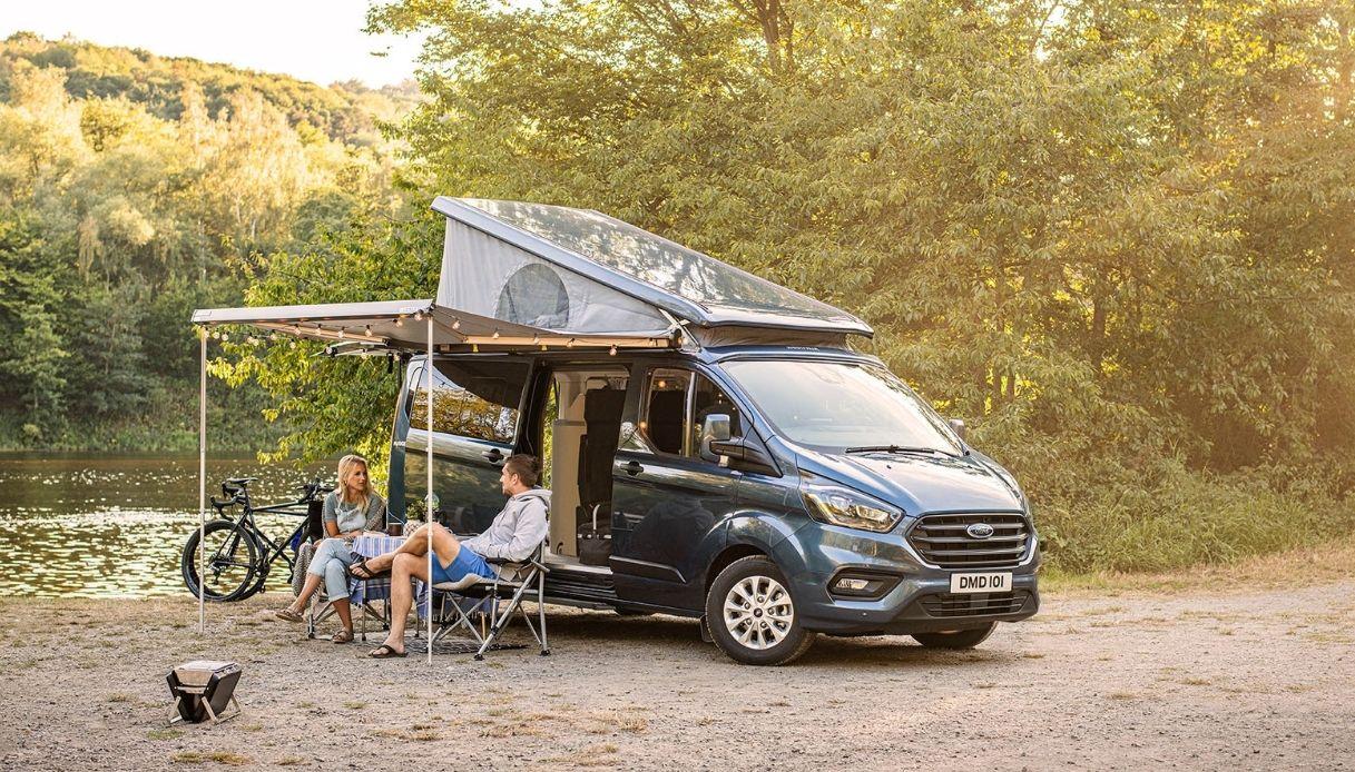 Ford, ecco il camper Transit Custom Nugget